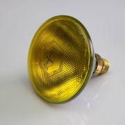 Leuchtmittel PAR-38 230V / 80W für Scheinwerfer, Sockel E-27, 3200K, gelb