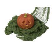 Halloween Dekostoff ZELENA, grobmaschig, grün, 76x500cm